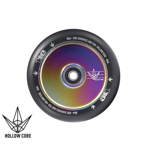 Envy Hollowcore 110mm Scooter Wheel Black/Oilslick
