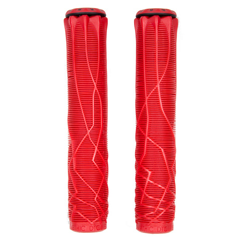 Ethic Scooter Grips Red