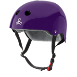 Triple 8 THE Certified Sweatsaver Helmet Purple Gloss