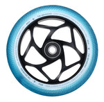 Envy Tri Bearing 120mm X 30mm Scooter Wheel Teal/Black