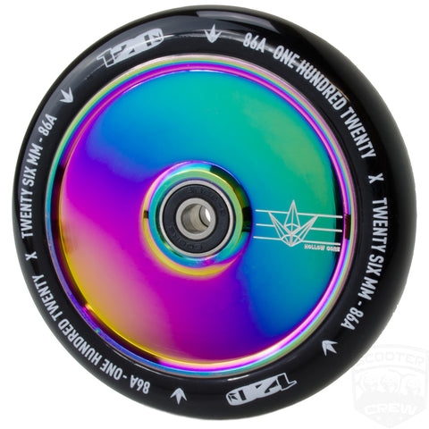 Envy Hollowcore 120mm Scooter Wheel Oilslick