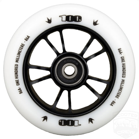 Envy 100mm Scooter Wheel White