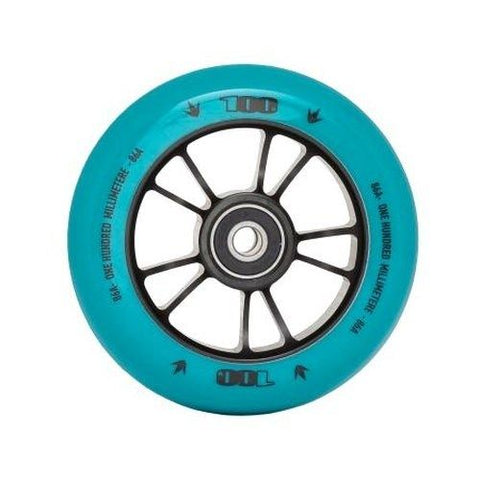 Envy 100mm Scooter Wheel Teal