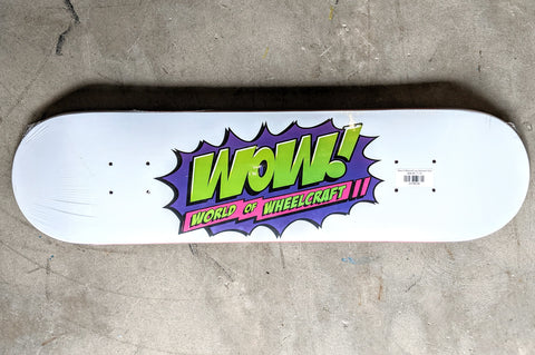 WOW Team Logo 8.75 Skateboard Deck