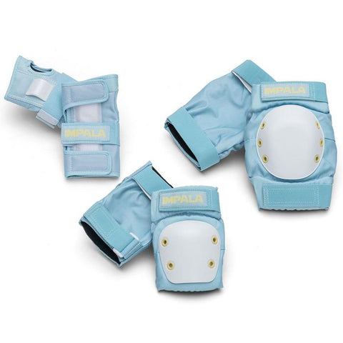 Impala Junior Pastel Blue Protective 3 Pack