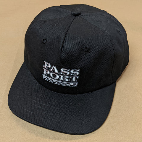 "Passport ""Auto"" Cap Black"