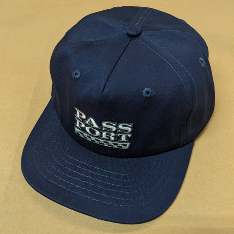 "Passport ""Auto"" Cap Blue"