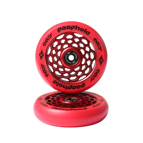 Sacrifice Peephole Scooter Wheel 110mm Red