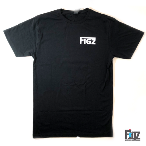 Figz T-Shirt Penguin Black
