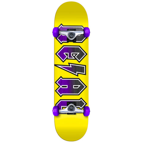 Real Deeds Yellow 7.5 Complete Skateboard