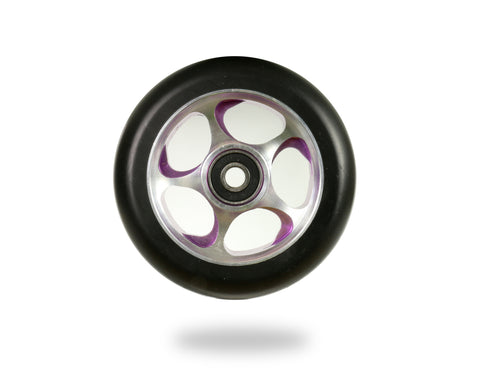 Root Industries Re Entry 100mm Scooter Wheel Black/Purple
