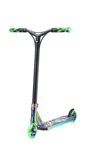 Sacrifice Flyte 115 V2 Scooter Neochrome/Green Graffiti