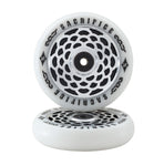 Sacrifice Peephole Scooter Wheel 110mm White/Silver/Black