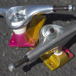 Tensor Aluminium Lo Sunset Fade 5.25 Skateboard Trucks Pair