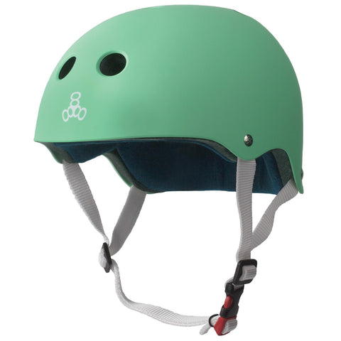 Triple 8 THE Certified Sweatsaver Helmet Mint Rubber