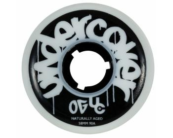 UC Undercover 58mm/90a White 4 Pack