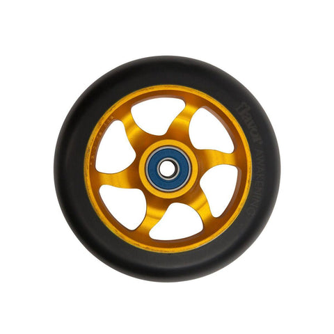 Flavor Awakening 110mm Scooter Wheel Black/Gold