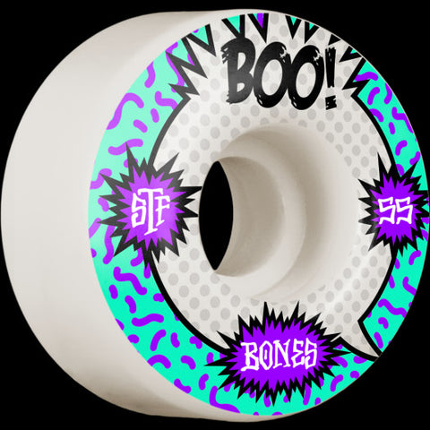 Bones STF Boo Raps 55mm/103a Skateboard Wheels