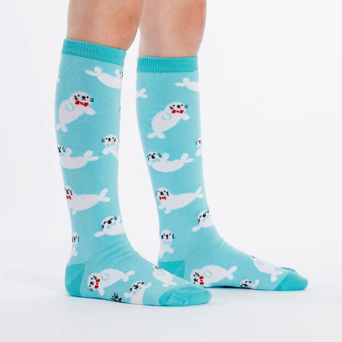 Sock It to Me Baby Seals Junior Knee High Socks