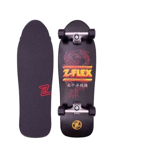 Z Flex Dragon 80's Bear Complete Skateboard