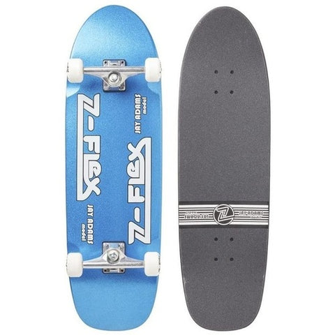 Z Flex Jay Adams Blue Metal Flake Complete Skateboard