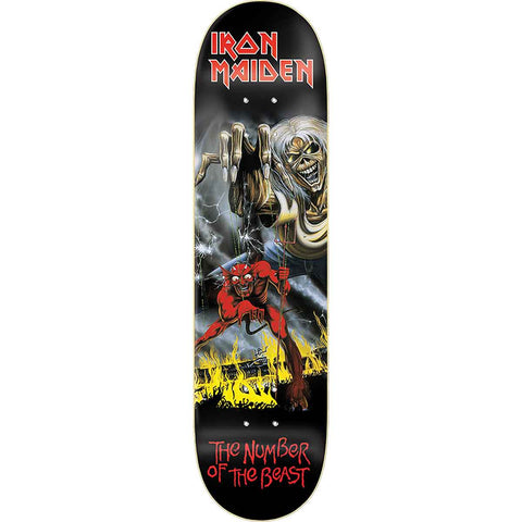 Zero Iron Maiden Number Of The Beast 8.25 Skateboard Deck