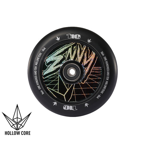 Envy Hollowcore Hologram Class 110mm Black Scooter Wheel