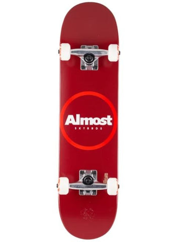 Almost Red Ringer 7.25 Complete Skateboard