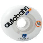 Autobahn Dual Ultra Classic 55mm 97a Skateboard Wheels