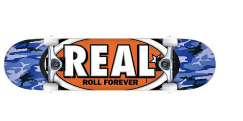 Real Awol Oval 7.3 Mini Complete Skateboard