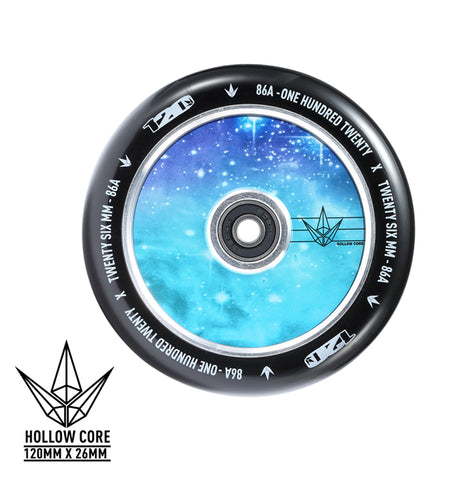 Envy Hollowcore 120mm Scooter Wheel Galaxy/Black