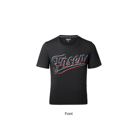 Fasen Baseball T-Shirt Black