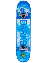 Darkstar Timeworks Blue 6.5 Micro Soft top Complete Skateboard