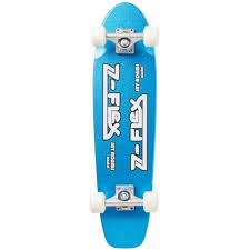 Z Flex Jay Adams 29 Metal Flake Blue Skateboard Cruiser
