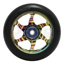 Flavor Awakening 110mm Scooter Wheel Black/Neochrome