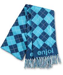 Enjoi Blue Scarf