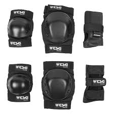 TSG Basic Tripack Pad Set Black