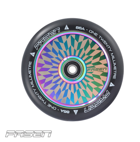 Fasen Hollowcore 120mm Scooter Wheel Hypno Oilslick