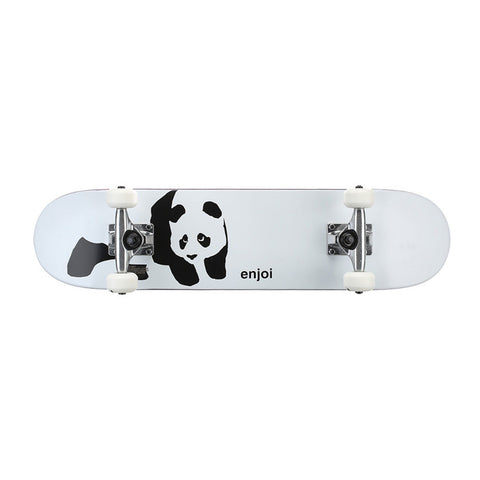 Enjoi Whitey Panda 6.75 Soft Top Skateboard Complete Youth