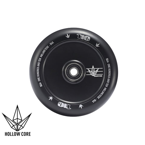 Envy Hollowcore 110mm Scooter Wheel Black