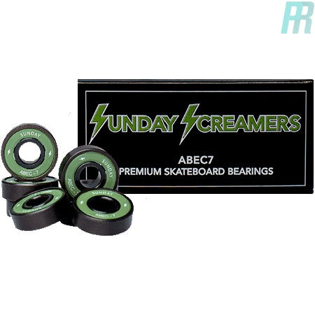 Sunday Hardware Abec 7 Skateboard Bearings