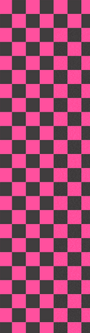 Fruity Skateboard Griptape Black/Pink Check