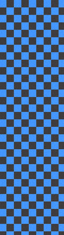 Fruity Skateboard Griptape Black/Blue Check