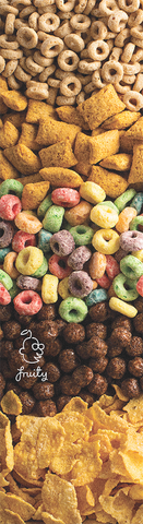 Fruity Skateboard Griptape Cereal