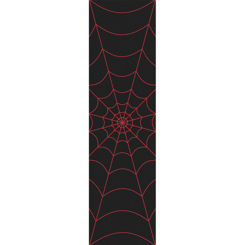 Fruity Griptape Sheet Red Spider Web