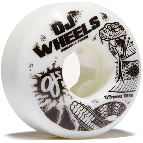 OJ's Team Rattlers 53mm Skateboard Wheels