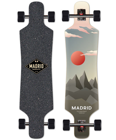 Madrid Top Mount Spade Lunar Complete Skateboard