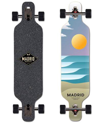 Madrid Trance Sol Drop Through 40 X 9.625 Complete Skateboard