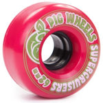 Pig Street Cruisers 60mm Red Skateboard Wheels
