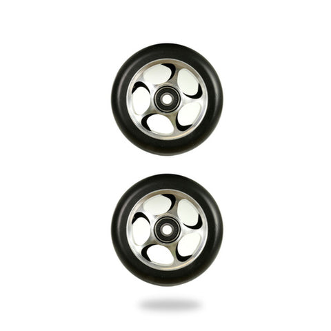 Root Industries Re Entry 100mm Scooter Wheel Black/Silver
